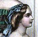 Bandeau Boiffant, The Ladies' Companion, 1856
