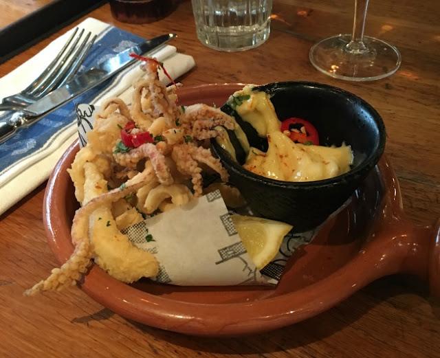 fried crispy squid