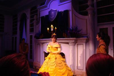 Princesa de a Bela e a Fera no Magic Kingdom em Orlando - Florida