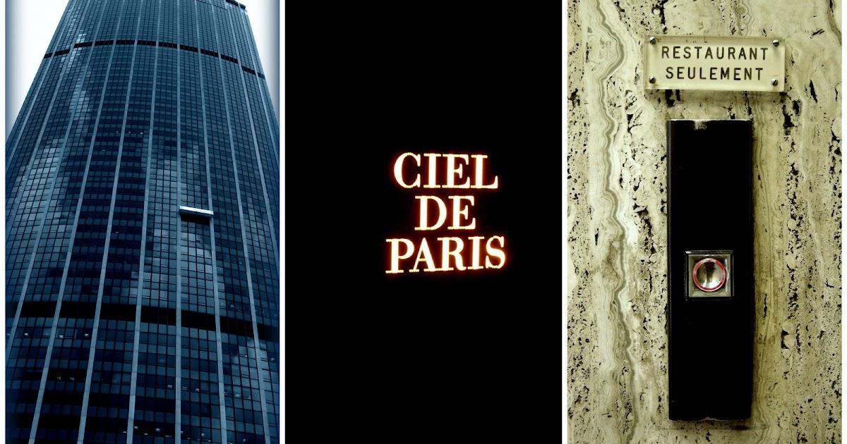 Food box Pour Le Ciel de Paris prendre lascenseur