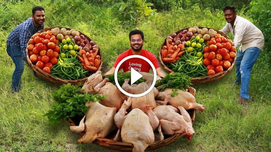 HEALTHY CHICKEN STEW RECIPE | Easy And Healthy Chicken Stew By Grandpa Kitchen