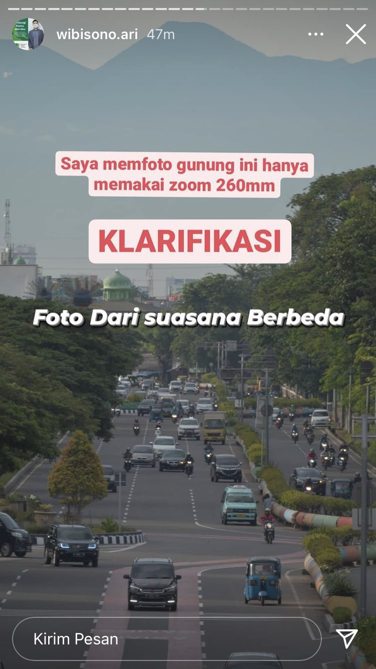 "Dituduh Tempelan Arbain Rambey, Inilah Pukulan Telak Fotografer ""Langit Jakarta Bersih"""
