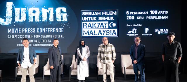 'JUANG' PECAH SEJARAH DUNIA PERFILEMAN MALAYSIA