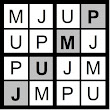 Solutions to Monday's Word Sudoku Puzzles