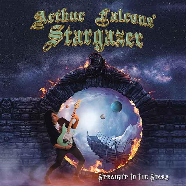 """Ο δίσκος των Arthur Falcone' Stargazer """"Straight To The Stars"""""""