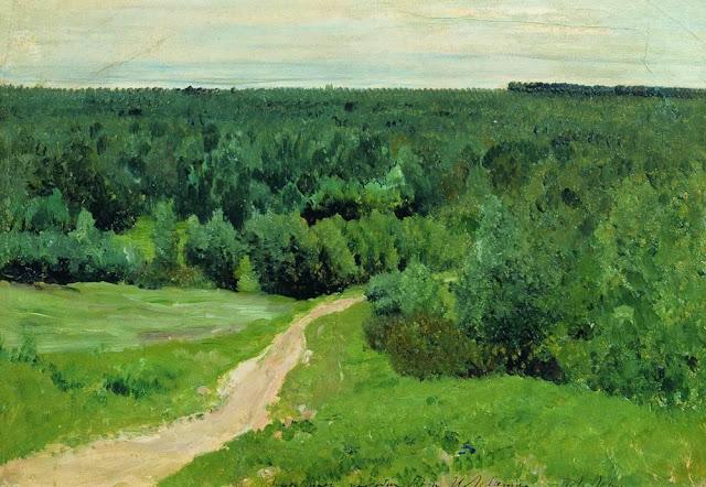 Исаак Ильич Левитан - Лесные дали. 1880-1890-е