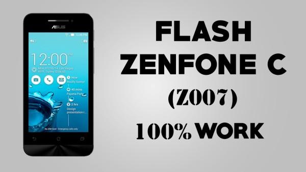 cara flash zenfone c untuk mengatasi bootloop