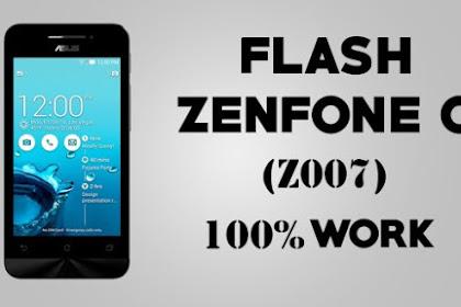 Cara Ampuh Flash Zenfone C Untuk Mengatasi Bootloop