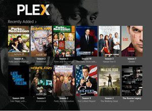Share multimedia content with Plex