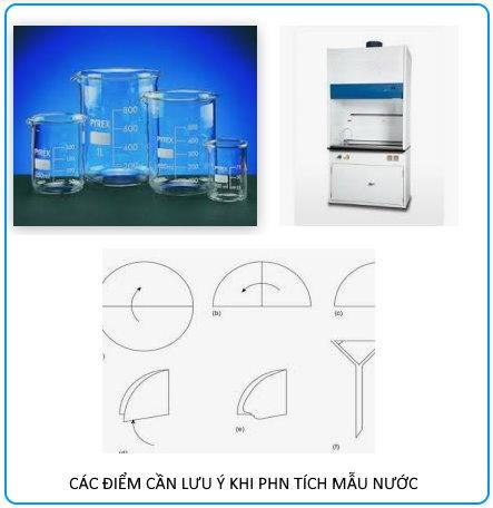 Phương pháp lấy mẫu nước, Phòng thí nghiệm môi trường