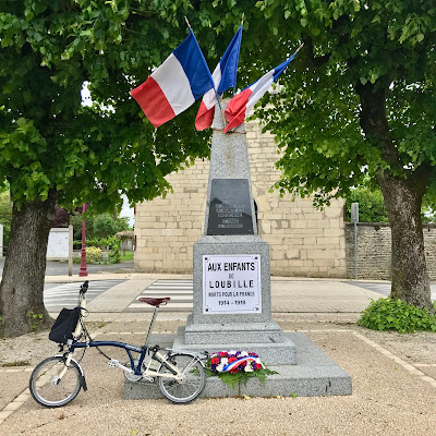 French Village Diaries covid-19 confinement day fifty-three Victory in Europe 8th May 2020