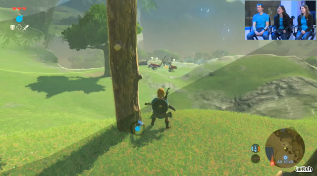 The Legend of Zelda: Breath of the Wild Bokoblin camp