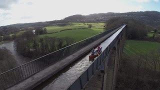 Pontcysyllte Aqueduct in United Kingdom