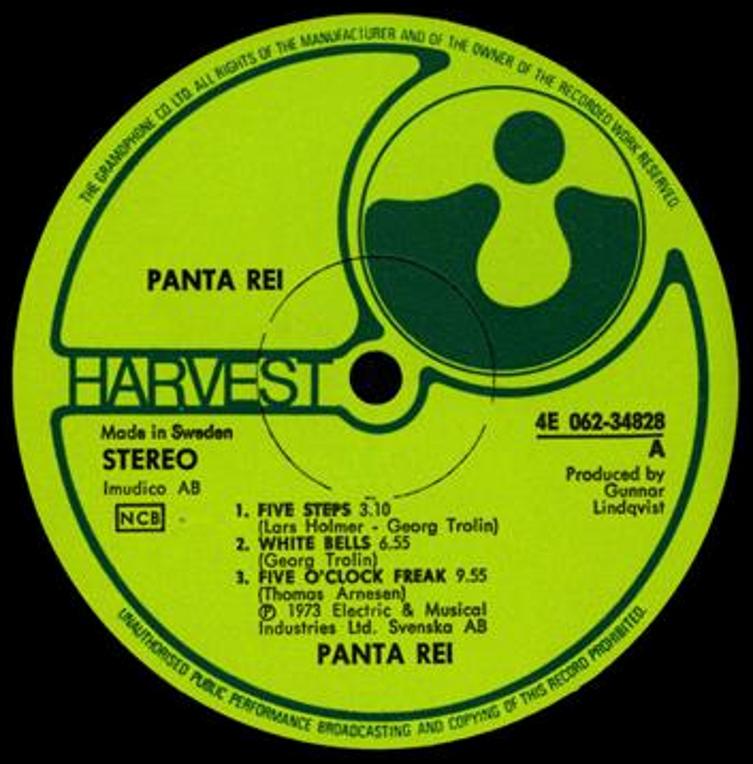 Panta Rei Same 1973 Swe Heavyguitar Freakyprogrock