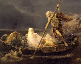Charon and the light of Christ