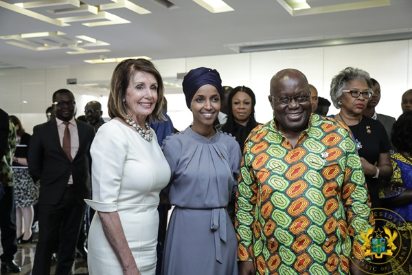 """We Are Looking For A New, More Progressive Agenda With America"" - President Akufo-Addo To US Congress Speaker Pelosi"