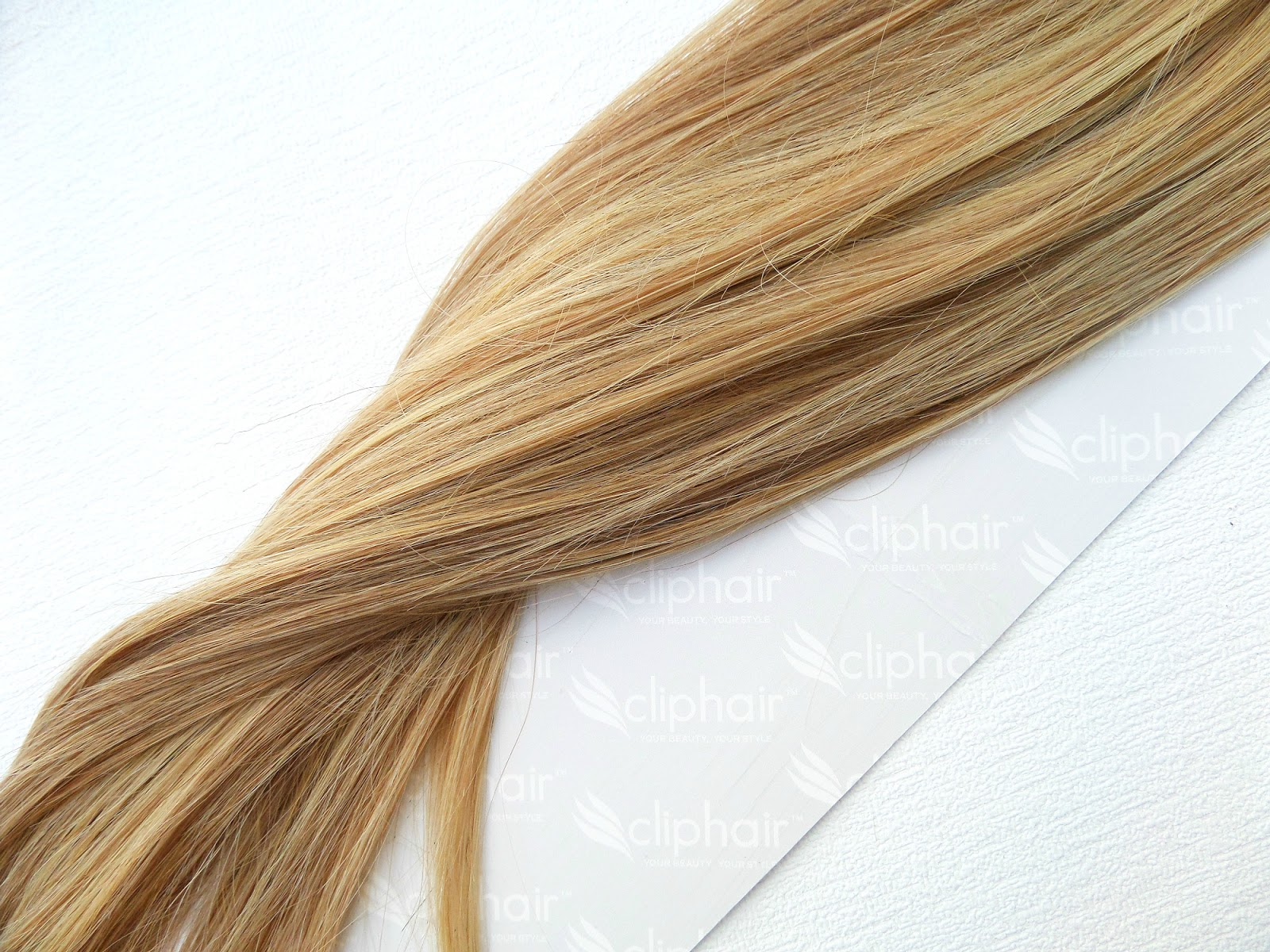 ClipHair Blonde Brown Mix Full head extensions review