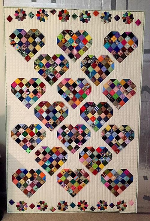 Candy Heart Blocks - Quilt Tutorial