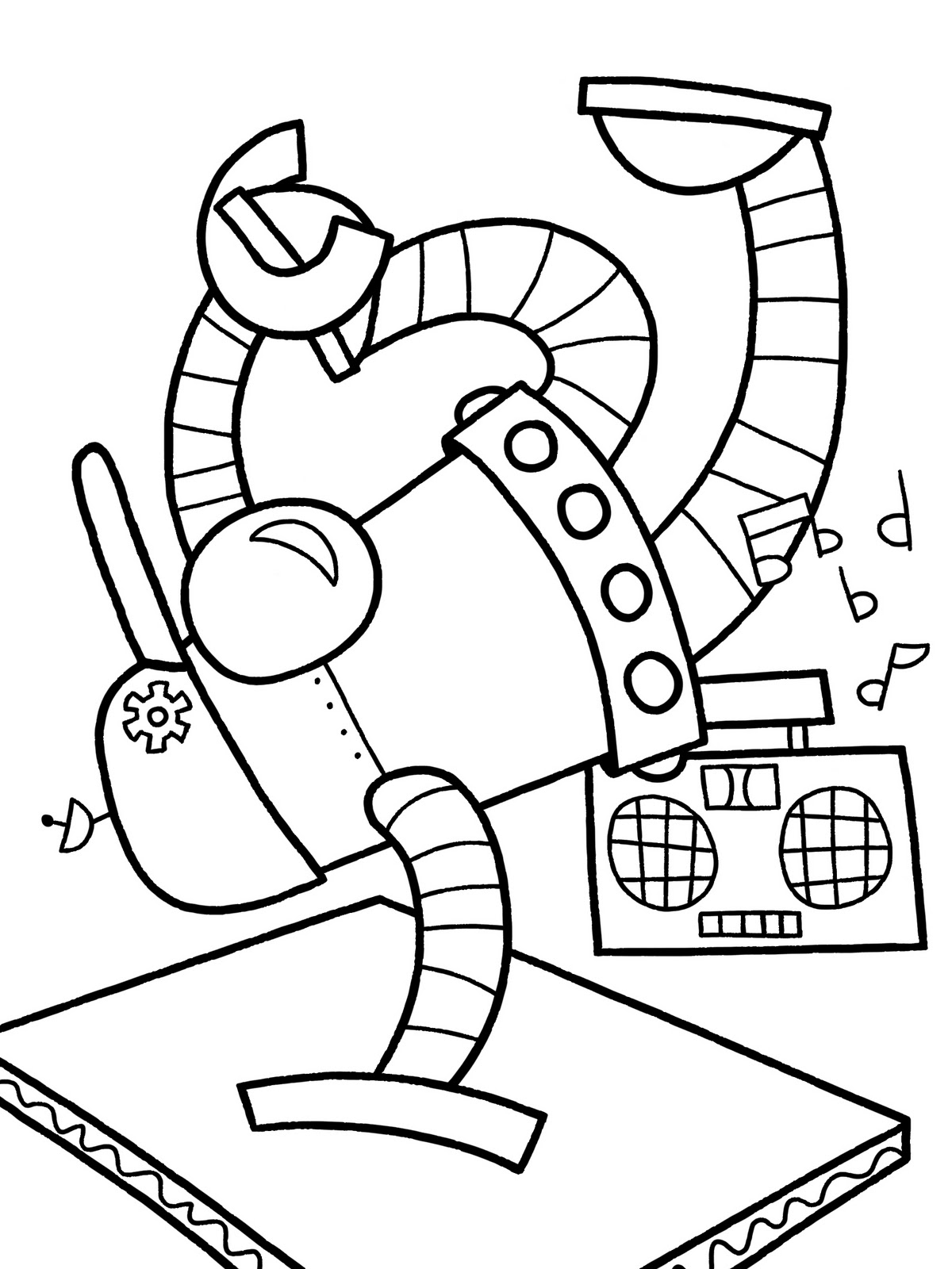 Best Colorear Godzilla Robot Coloring Pages Line Art