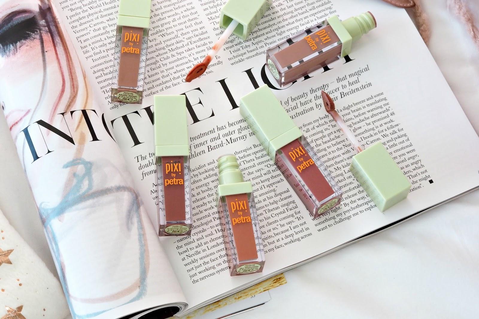 PIXI MatteLast Liquid Lipstick Review and swatches