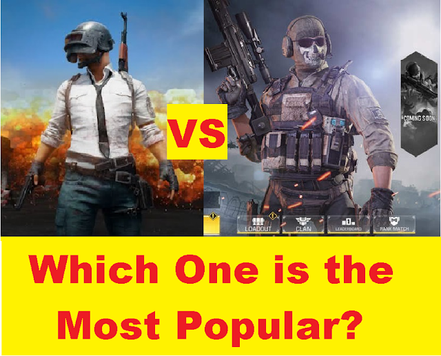 Call Of Duty vs PUBG Mobile: Which one is the most Popular game in 2020 2
