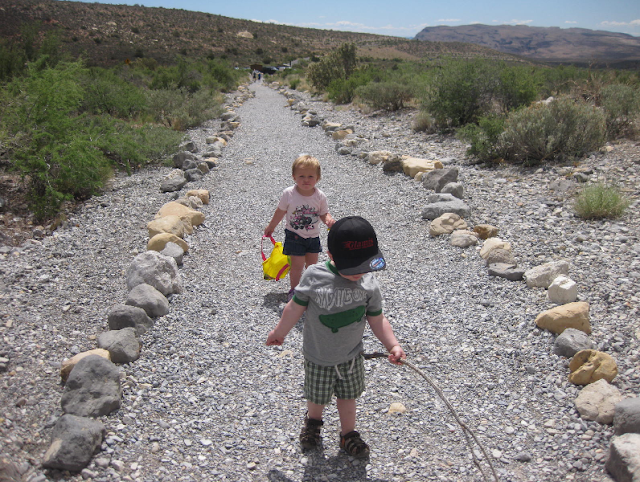Children's Discovery Trail no Red Rock em Las Vegas