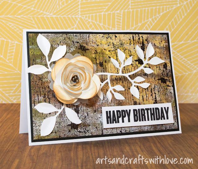 Cardmaking: Birthday card