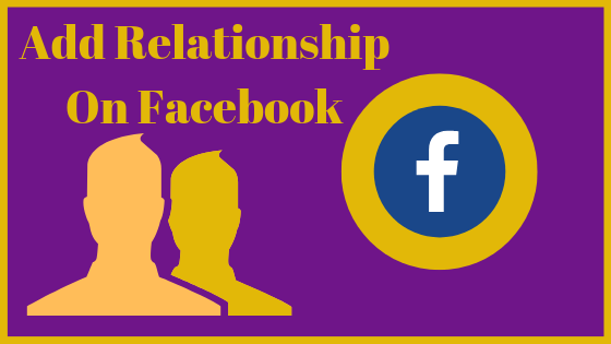 How To Show My Relationship Status On Facebook<br/>