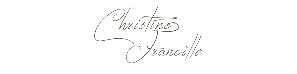 blog by Christine Francillo