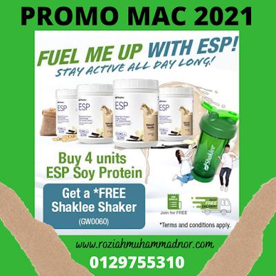 PROMO ESP  SHAKLEE MAC 2021