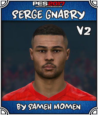 PES 2017 Gnabry Face by Sameh Momen