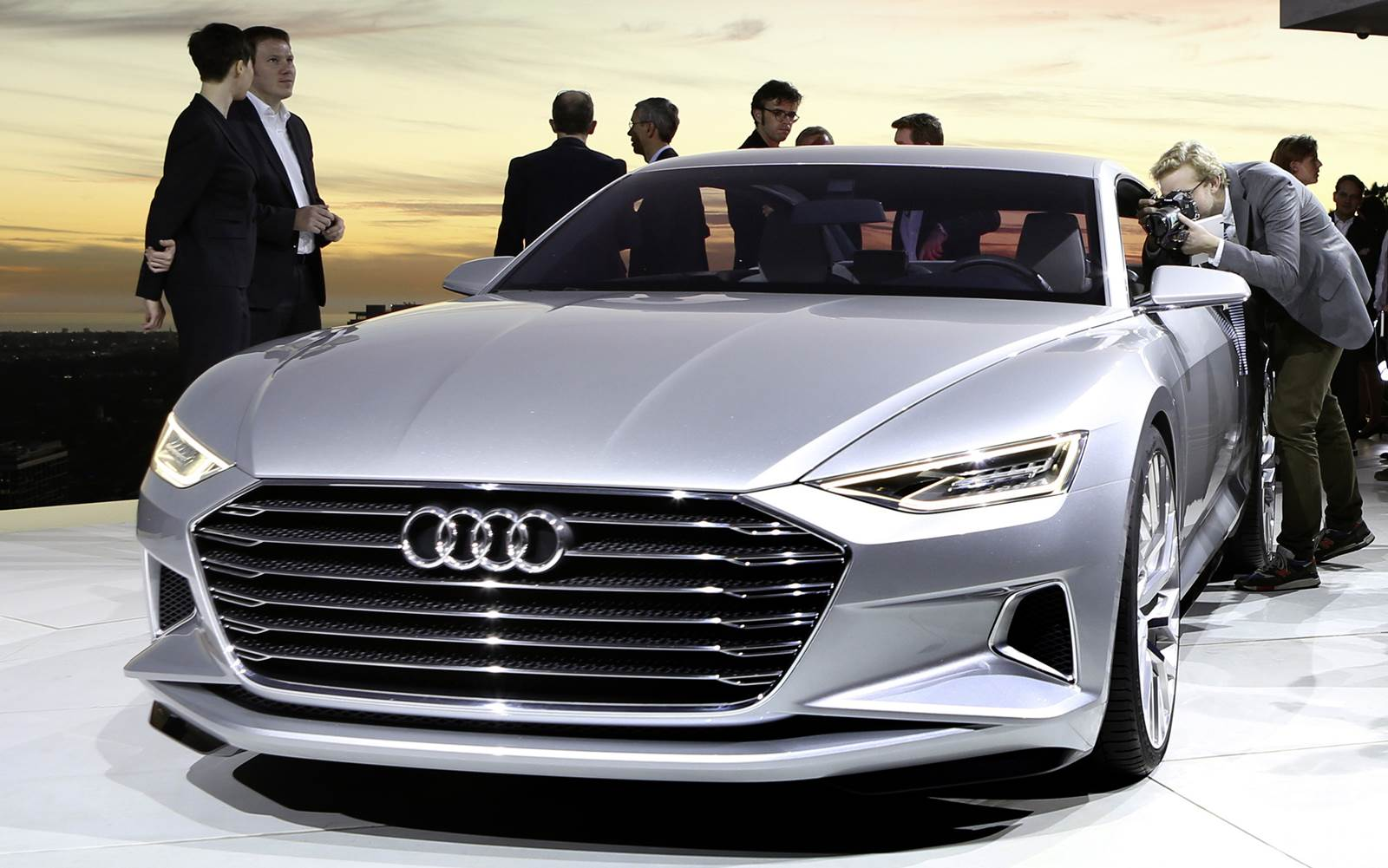 Audi Prologue Antecipa O A9 E A Frente Do Novo A4 Car