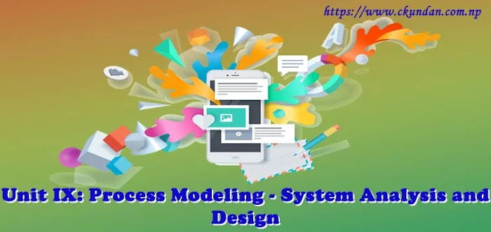 Unit IX: Process Modeling - System Analysis and Design