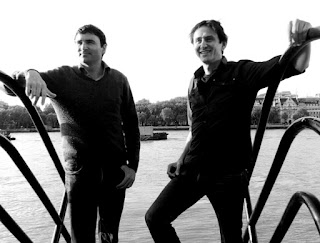 Travel writers: The Raven Brothers. Chris and Simon Raven