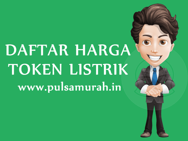 Daftar Harga Token Listrik PLN Prabayar Murah PulsaMurah.in