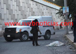 Ejecutan a sujeto a unos metros de la Fiscalía en Chilpancingo Guerrero