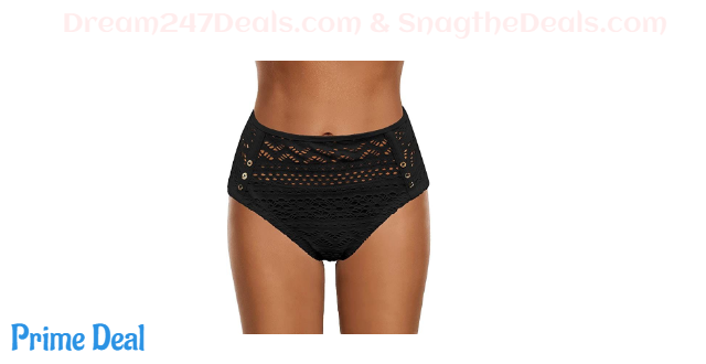 50% off Women's Crochet Lace Mid Waist