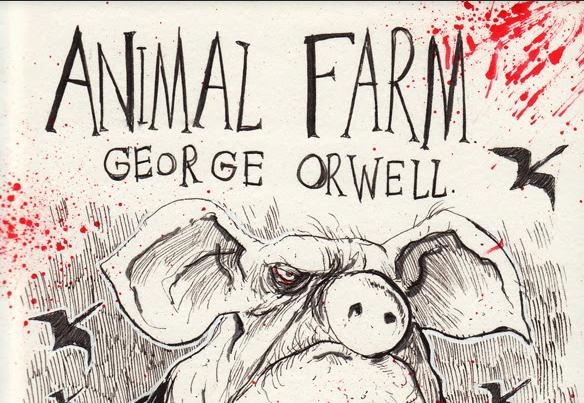 En Çok Okunan Kitaplar - Hayvan Çiftliği - George Orwell - Kurgu Gücü