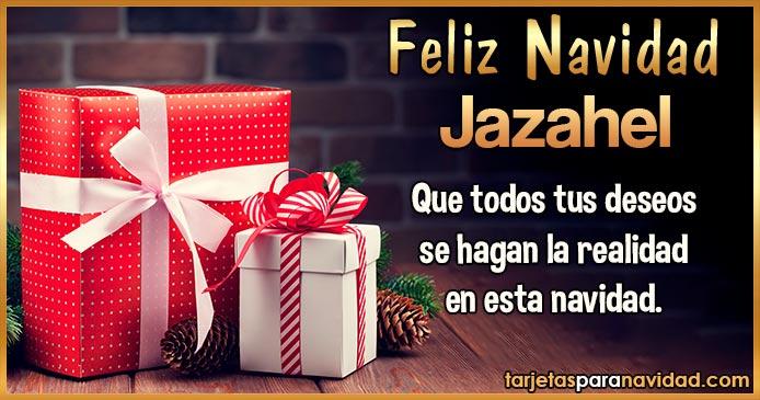 Feliz Navidad Jazahel