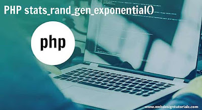 PHP stats_rand_gen_exponential() Function
