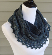 mashpee, shawlette, knit, Tian