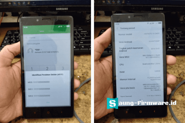 Cara Root Xiaomi Redmi Note 1s Gucci Tested | Fix Imei Baseband Null