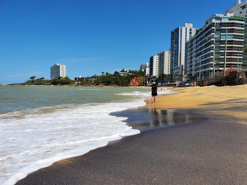 Hotel bom e barato Praia da Areia Preta - Guarapari