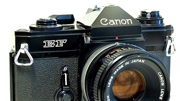Canon EF 35mm SLR, The Black Beauty
