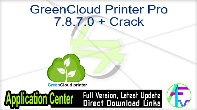 GreenCloud Printer Pro 7.8.7.0 + Crack