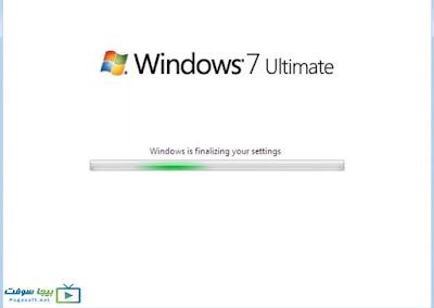 تسطيب ويندوز 7 مجانا على اللاب توب