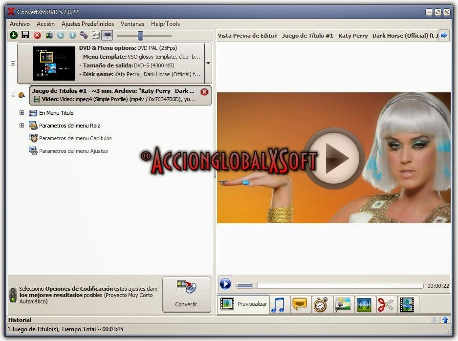 Convertir y grabar todos tus videos y pasar de AVI a DVD