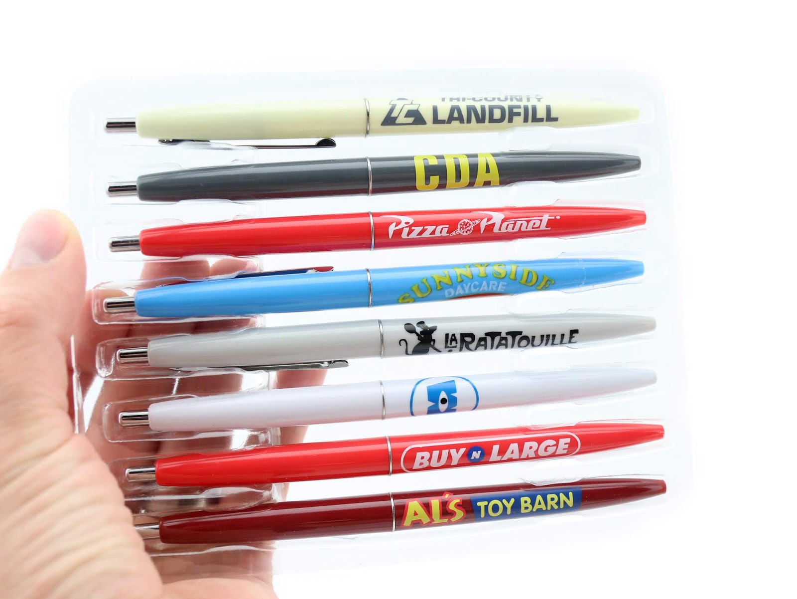 disney store pixar business pen set