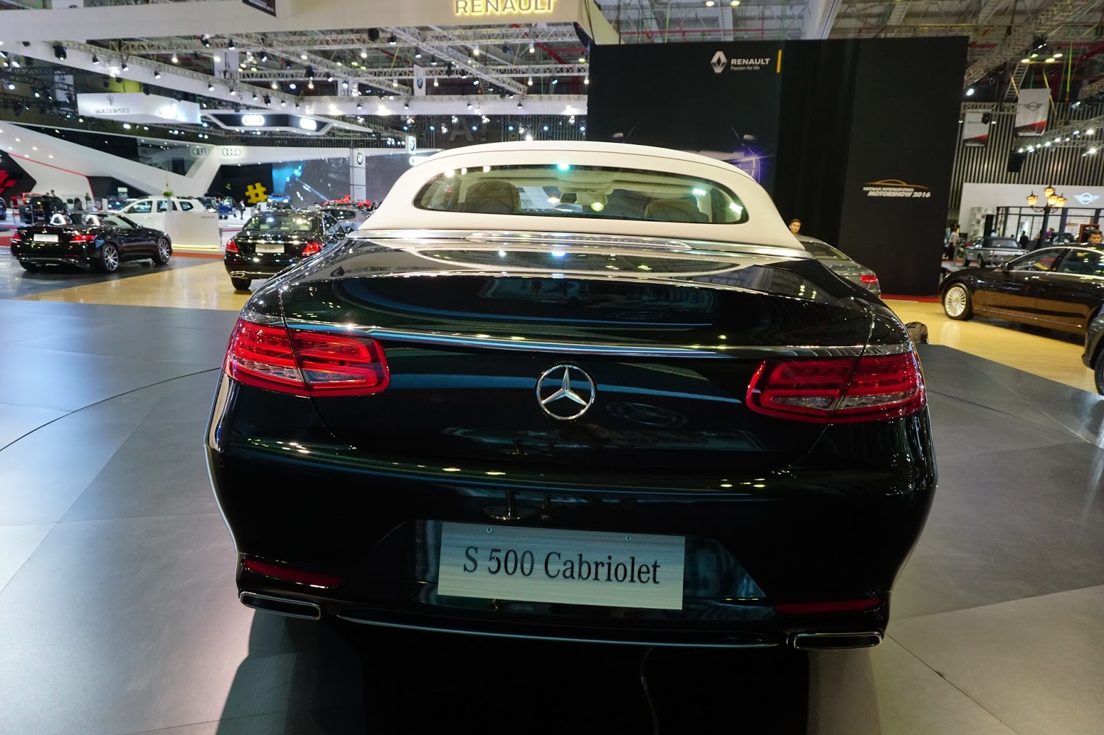 Mercedes Benz S500 Cabriolet 2017