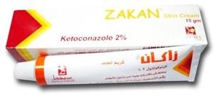 سعر ودواعى إستعمال دواء كريم زاكان Zakan لعلاج الفطريات الجلدية